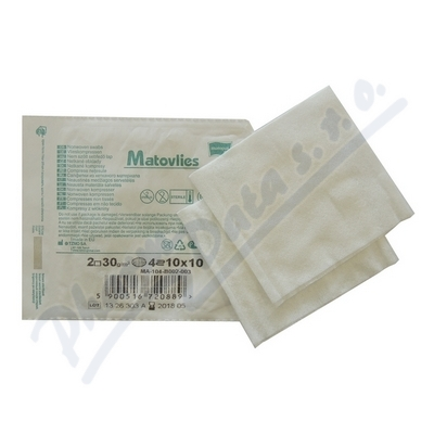 Matovlies kompresy z net.text.30g 10x10cm 2ks