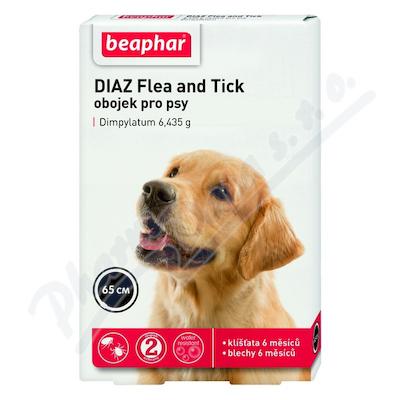 Zobrazit detail - DIAZ Flea and Tick 6. 435g obojek pro psy 65cm