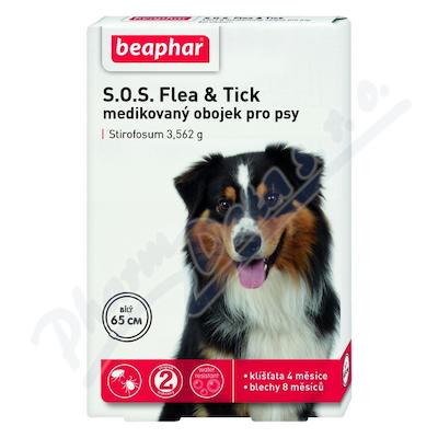 Zobrazit detail - SOS Flea and Tick 3. 562g obojek pro psy 65cm