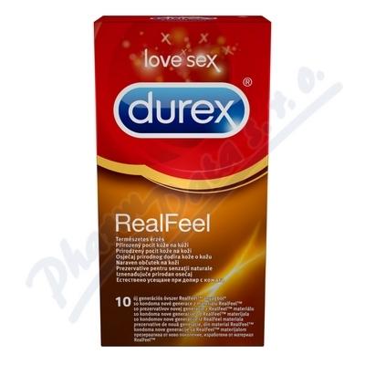 Zobrazit detail - Prezervativ Durex Real Feel 10 ks