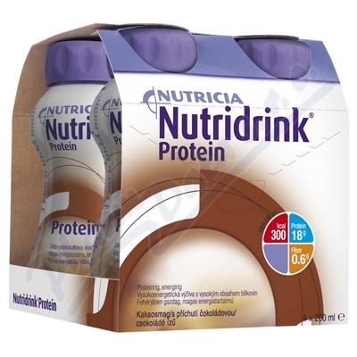 Zobrazit detail - Nutridrink Protein s př.  čoko. por. sol. 4x200ml Nový