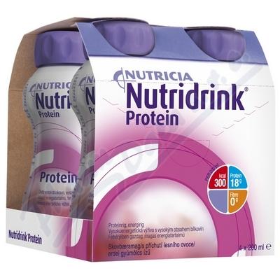 Zobrazit detail - Nutridrink Protein s př. les. ov. por. sol. 4x200ml Nov