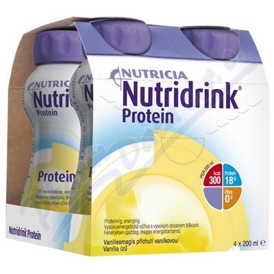 Zobrazit detail - Nutridrink Protein s př.  van.  por. sol. 4x200ml Nový