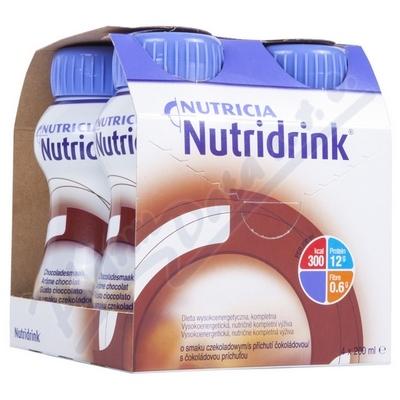 Zobrazit detail - Nutridrink s příchutí čokoládovou por. sol. 4x200ml