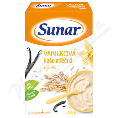 Zobrazit detail - Sunarka vanilkov� ka�i�ka ml��n� 225g