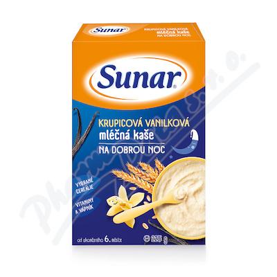 Zobrazit detail - Sunarka krupicová kaš.  vanil.  na dobr. noc ml. 225g