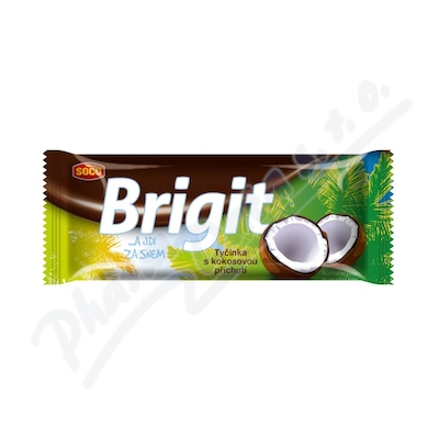 Zobrazit detail - Brigit - tyčinka s kokosovou příchutí 90g
