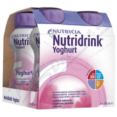 Zobrazit detail - Nutridrink Yoghurt s př.  malina por. sol. 4x200ml