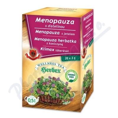 Zobrazit detail - HERBEX Menopauza s jetelem 20x3g n. s.