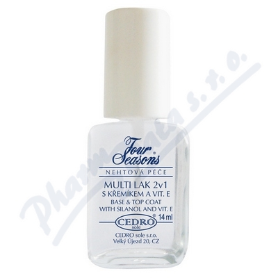 Zobrazit detail - Four Seasons Multi lak 2v1 s k�em�kem a vit. E 14ml