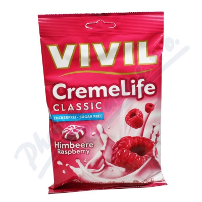 Zobrazit detail - Vivil Creme life malina bez cukru 110g