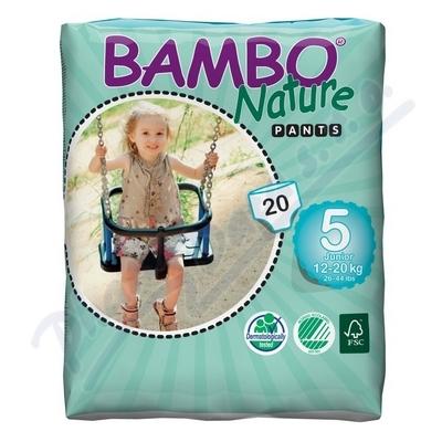 Zobrazit detail - BAMBO Nature Pants Junior navl. plen. k. trénink 20ks