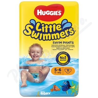 Zobrazit detail - HUGGIES Little Swimmers vel. 5-6 - 12-18kg 11ks