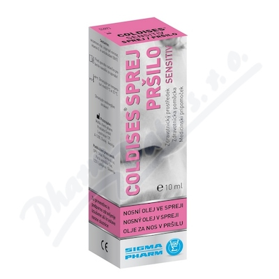 COLDISES Sensitiv nosn� olej ve spreji 10ml