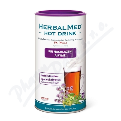 Zobrazit detail - HerbalMed HotDrink Dr. Weiss nachl.  rýma 180g+vit. C