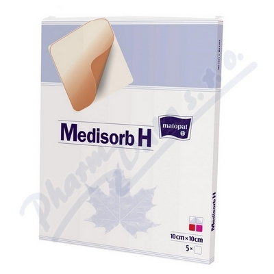 Medisorb H hydrokoloidní krytí steril.10x10cm 5ks