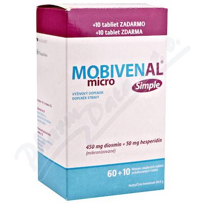 Zobrazit detail - Mobivenal Micro Simple tbl. 60+10