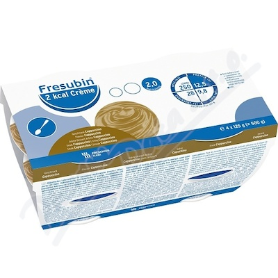 Zobrazit detail - Fresubin 2 kcal Creme Cappuccino por. sol. 4x125g