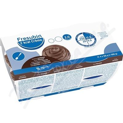 Zobrazit detail - Fresubin 2 kcal Creme Čokoláda por. sol. 4x125g