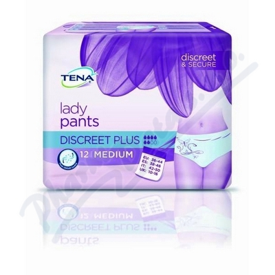 Ink.kalh.TENA Lady Pants Disc.Plus M 12ks 797512