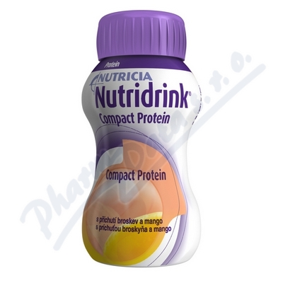 Zobrazit detail - Nutridrink Compact Protein př.  brosk. mango 4x125ml