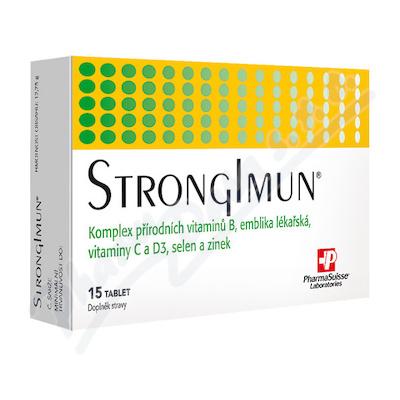 Zobrazit detail - STRONGIMUN PharmaSuisse tbl.  15