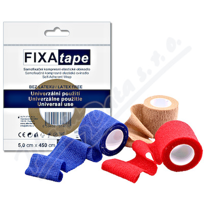 FIXAtape Stretch samofix.obinadlo 5x450cm mix
