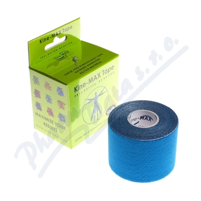 KineMAX SuperPro Ray. kinesiology tape modr.5cmx5m