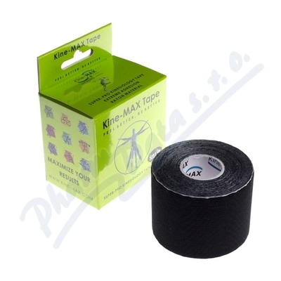 KineMAX SuperPro Ray. kinesiology tape čern.5cmx5m