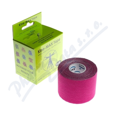 KineMAX SuperPro Ray. kinesiology tape růž.5cmx5m