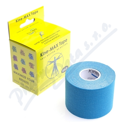 Zobrazit detail - KineMAX SuperPro Cot.  kinesiology tape modr. 5cmx5m
