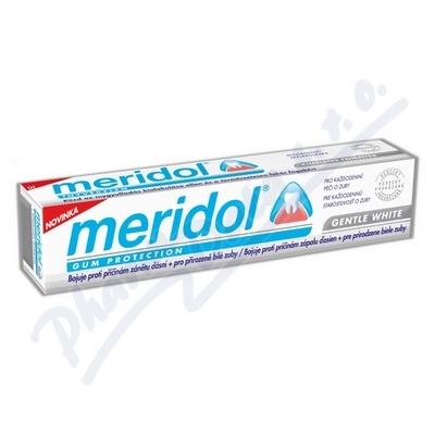 Zobrazit detail - MERIDOL zubní pasta GENTLE WHITE 75ml