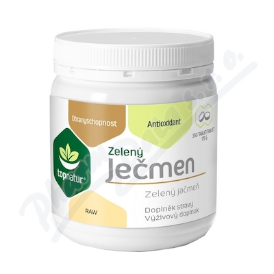 Zelený ječmen tablety 350 ks Topnatur