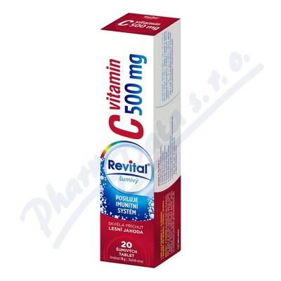 Zobrazit detail - Revital C vitamin 500mg Lesní jahoda eff. tbl. 20