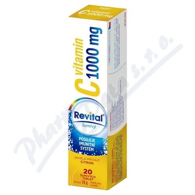 Zobrazit detail - Revital C vitamin 1000mg Citron eff. tbl. 20