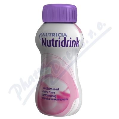 Zobrazit detail - Nutridrink s příchutí jahodovou 1x200 ml