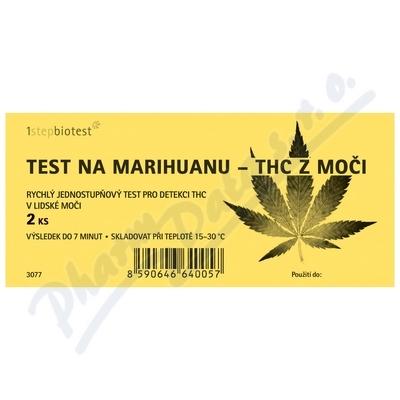Test na marihuanu-THC z moči 2ks