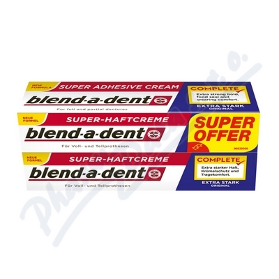 Blend-a-Dent upev. krém Original Complete 2x47g