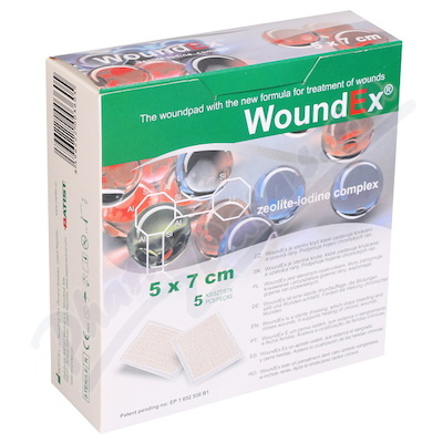 WoundEX 5x7cm 5ks