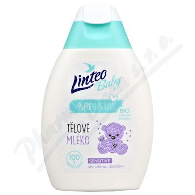 Zobrazit detail - Dětské tělové mléko 250ml LINTEO BABY