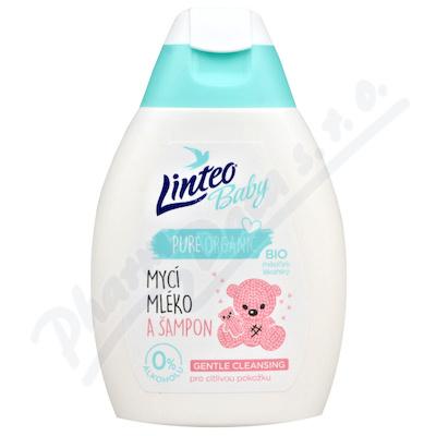Zobrazit detail - Dětské mycí mléko a šampon 250ml LINTEO BABY