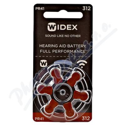 Zobrazit detail - Baterie do naslouchadel Widex 312 6ks