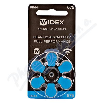 Zobrazit detail - Baterie do naslouchadel Widex 675 6ks