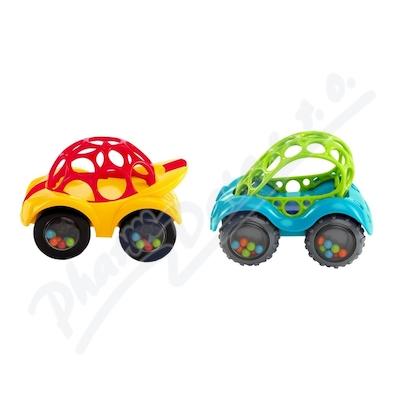 Zobrazit detail - BRIGHTSTARTS Hračka OBALL Rattle&Roll autíčko 3m+