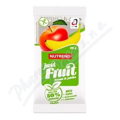 Zobrazit detail - NUTREND Just Fruit banán a jablko 30g
