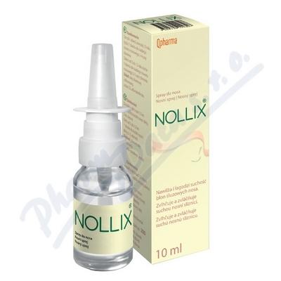 Zobrazit detail - NOLLIX sprej na nosní sliznici 10 ml