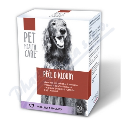 Zobrazit detail - PET HEALTH CARE P��e o klouby pro psy tbl. 90