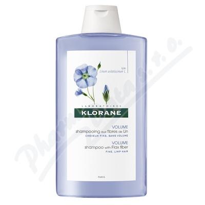KLORANE Lin shamp 400ml-�ampon pro jemn� vlasy
