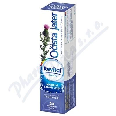 Zobrazit detail - Revital Očista jater- ostropestřec mar.  eff. tbl. 20