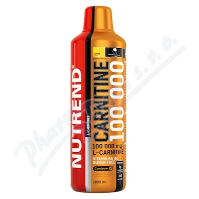 Zobrazit detail - NUTREND Carnitine 100 000 citron 1000ml